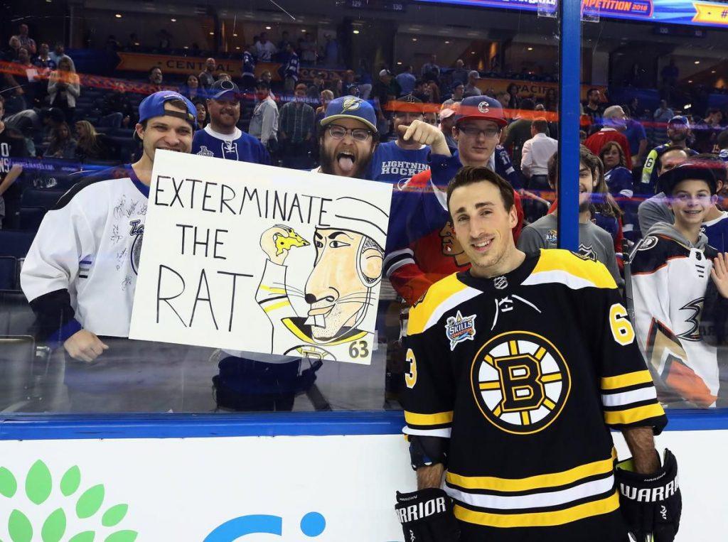 Brad-Marchand-Boston-Bruins-Rat-1024x763 Top 10 plays from 2019-2020: Brad Marchand Boston Bruins Brad Marchand NHL