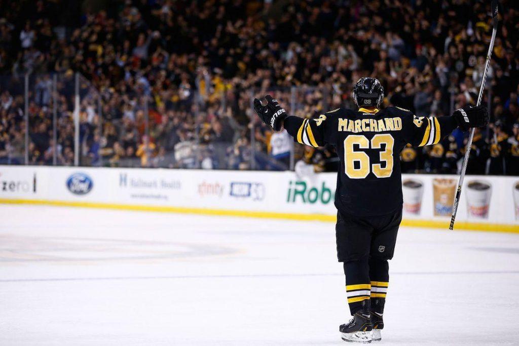 Brad-Marchand-Boston-Bruins-Wallpaper-1024x683 Top 10 plays from 2019-2020: Brad Marchand Boston Bruins Brad Marchand NHL