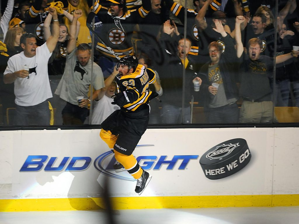 Brad-Marchand-Boston-Bruins-jumping-1024x768 Top 10 plays from 2019-2020: Brad Marchand Boston Bruins Brad Marchand NHL