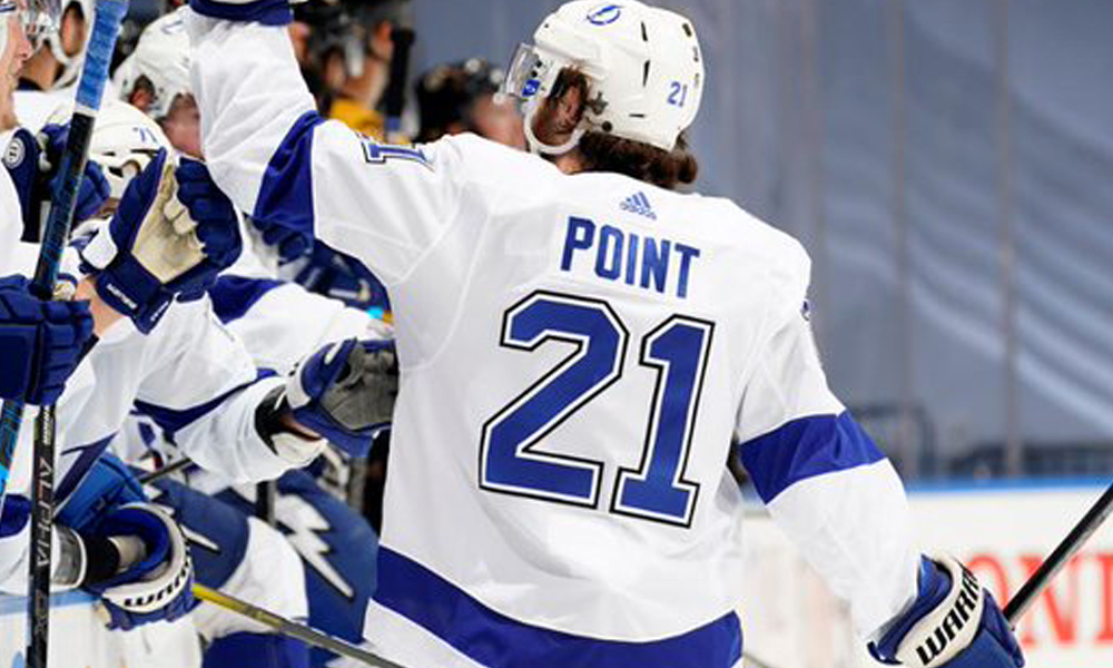 Brayden-Point-out Top 10 plays from 2019-2020: Brayden Point Brayden Point NHL Tampa Bay Lightning