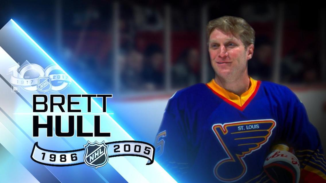 Brett Hull Blues Top 100