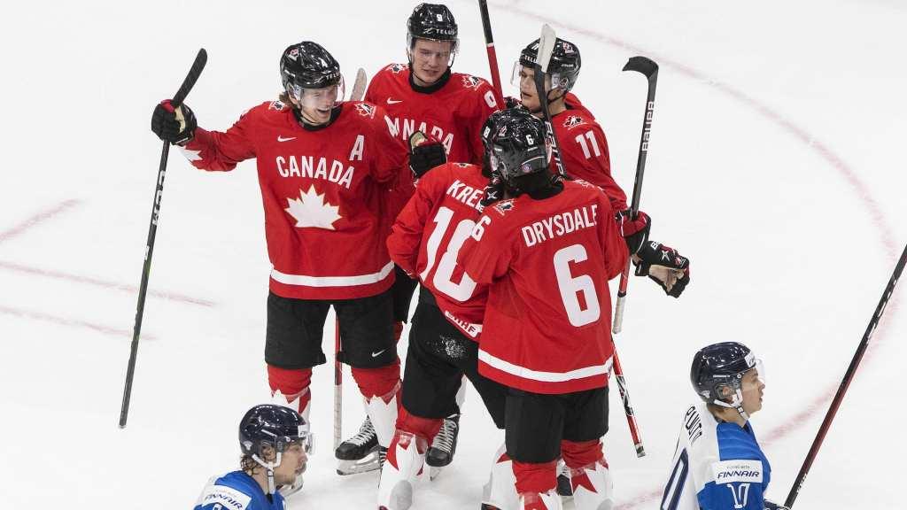 Canada-Defeats-Finland-1024x576 2021 World Junior Championships: Canada – Finland 12.31.20 2021 World Junior Championships Team Canada Team Finland