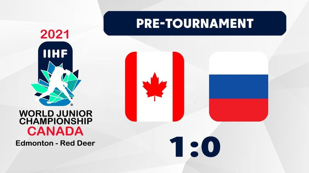 Canada-Russia-Final-1024x576 2021 World Junior Championships: Canada - Russia 12.23.20 Exhibition Highlights 2021 World Junior Championships Team Canada Team Russia