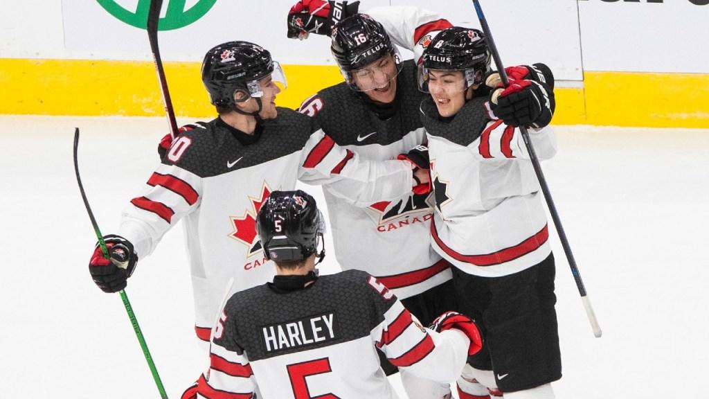 Canada-WJC-Slovakia-1024x576 2021 World Junior Championships: Canada - Slovakia 12.27.20 2021 World Junior Championships Team Canada Team Slovakia