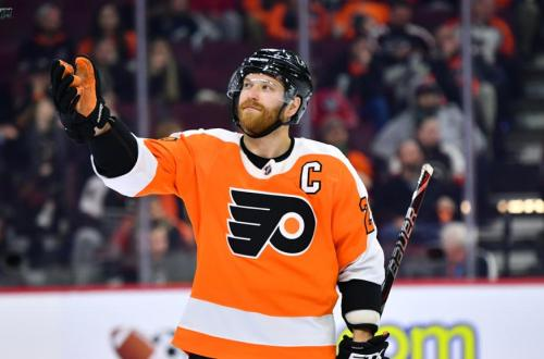 Clause Giroux Philadelphia Flyers 5