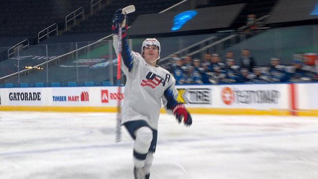 Cole-Caufield 2021 WJC: USA - Finland 12.22.20 Exhibition Highlights Team Finland Team USA