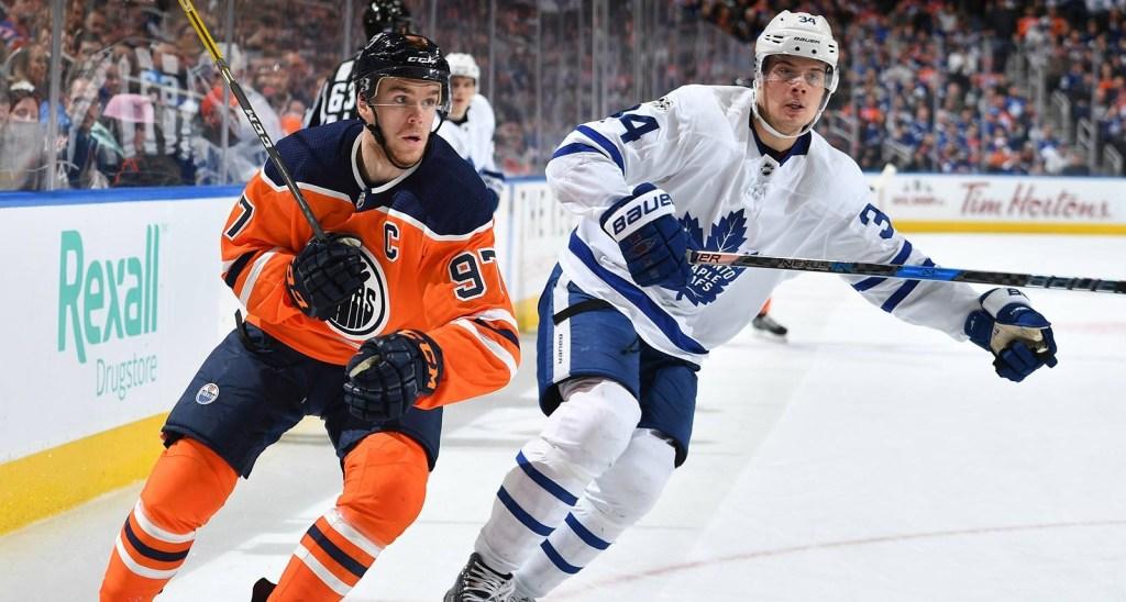 Connor-McDavid-Edmonton-Oilers-Auston-Matthews-1024x548 Top 10 plays from 2019-2020: Connor McDavid Connor McDavid Edmonton Oilers NHL