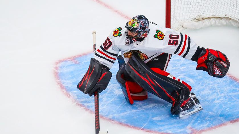 Corey-Crawford-New-Jersey-Devils-Chicago-Blackhawks-2 LOL: Corey Crawford retires after two Devils practices... Chicago Blackhawks Corey Crawford New Jersey Devils