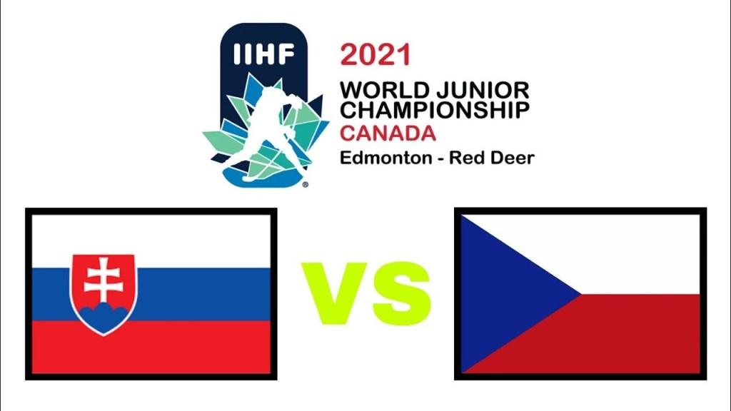 Czech-Republic-Slovakia-Hockey-1024x576 2021 World Junior Championships: Czech Republic - Slovakia 12.23.20 Exhibition Highlights 2021 World Junior Championships Team Czech Republic Team Slovakia