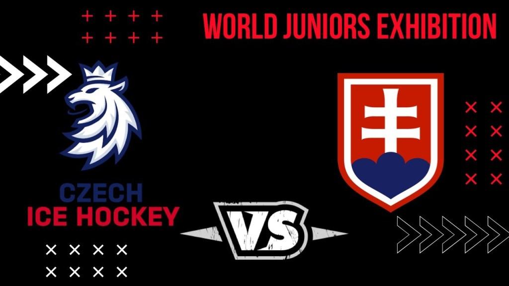 Czech-Republic-Slovakia-Hockey-4-1024x576 2021 World Junior Championships: Czech Republic - Slovakia 12.23.20 Exhibition Highlights 2021 World Junior Championships Team Czech Republic Team Slovakia