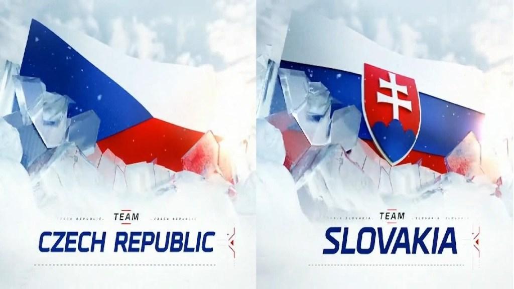 Czech-Republic-Slovakia-Hockey-Logos-1024x576 2021 World Junior Championships: Czech Republic - Slovakia 12.23.20 Exhibition Highlights 2021 World Junior Championships Team Czech Republic Team Slovakia