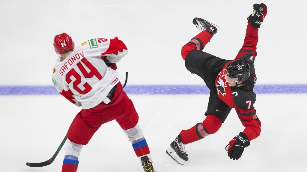 Dach-Injury-1024x576 2021 World Junior Championships: Canada - Russia 12.23.20 Exhibition Highlights 2021 World Junior Championships Team Canada Team Russia