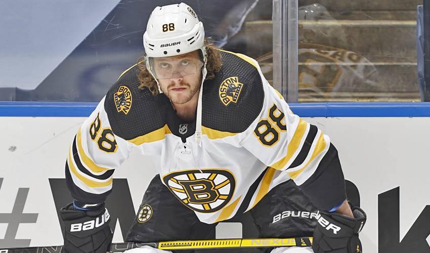 David Pastrnak Boston Bruins 6