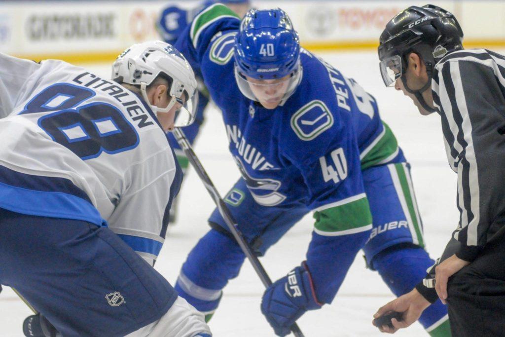 Elias-Pettersson-Vancouver-Canucks-Faceoff Top 10 plays from 2019-2020: Elias Pettersson Elias Pettersson Vancouver Canucks