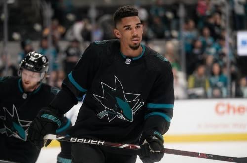 Evander Kane Sharks 2019