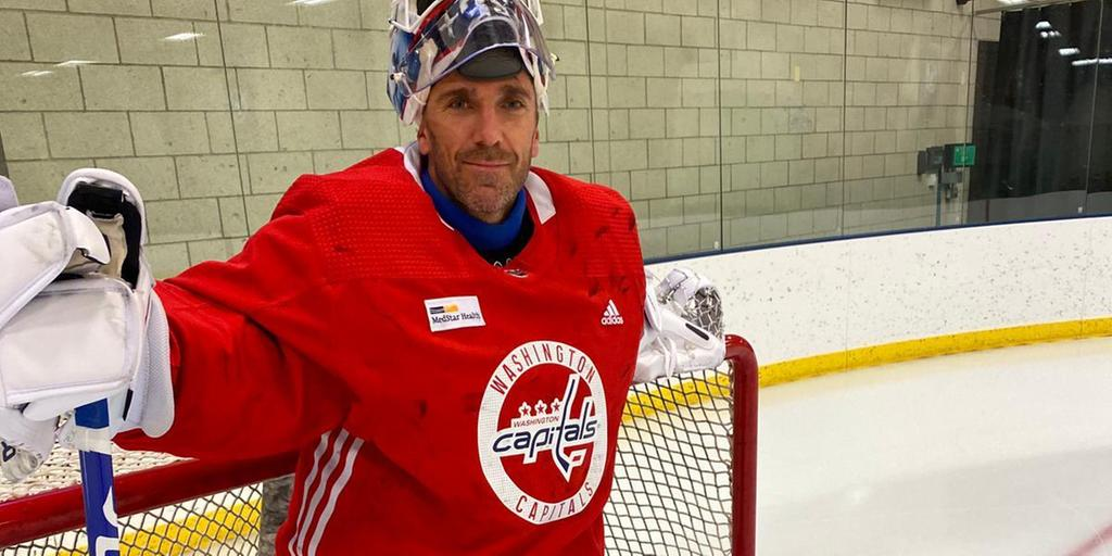 Henrik-Lundqvist-Washington-Capitals-2 Henrik Lundqvist was back on the ice Tuesday for the first time since having open-heart surgery in early January. Henrik Lundqvist Washington Capitals