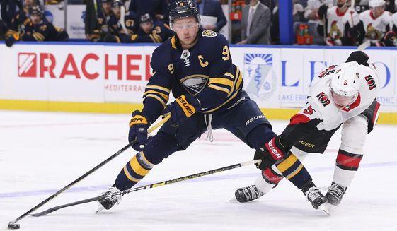 Jack-Eichel-Senators-Sabres Top 10 plays from 2019-2020: Jack Eichel Buffalo Sabres Jack Eichel