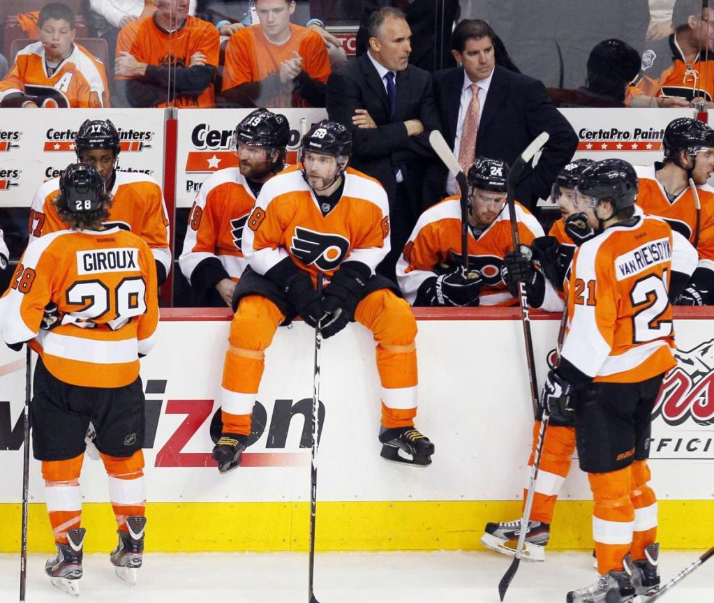 Jaromir-Jagr-Philadelphia-Flyers-Bench-1024x864 Here are some highlights of Jaromir Jagr on the Flyers to make your Tuesday better! Jaromir Jagr NHL Philadelphia Flyers