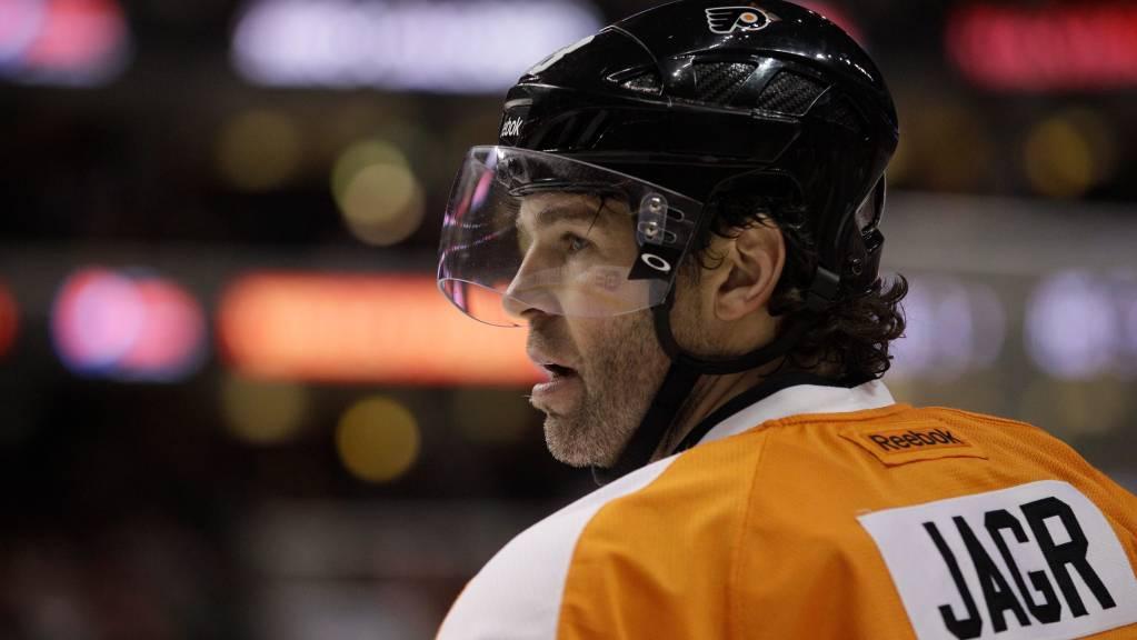 Jaromir-Jagr-Philadelphia-Flyers-Goat-1024x576 Here are some highlights of Jaromir Jagr on the Flyers to make your Tuesday better! Jaromir Jagr NHL Philadelphia Flyers