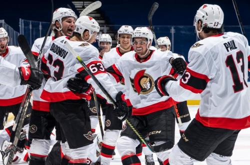 Leafs Senators Blown Lead 2 25 21 1