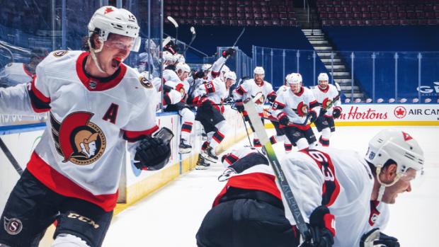 Leafs-Senators-Blown-Lead-2.25.21-3 The Maple Leafs impressively blow a 5-1 lead to the worst team in the NHL - 2.15.21 Ottawa Senators Toronto Maple Leafs