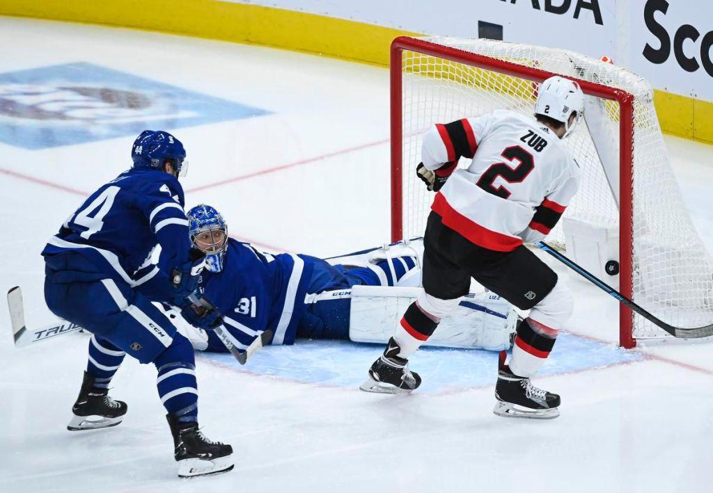 Leafs-Senators-Blown-Lead-2.25.21-4-1024x709 The Maple Leafs impressively blow a 5-1 lead to the worst team in the NHL - 2.15.21 Ottawa Senators Toronto Maple Leafs