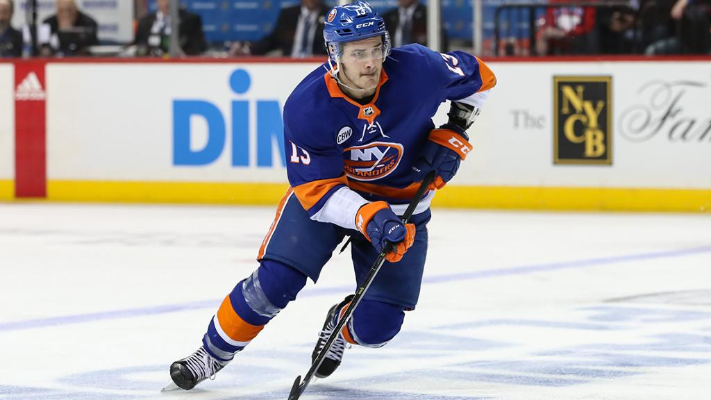 Mathew Barzal New York Islanders 19