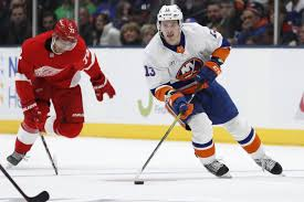 Mathew-Barzal-New-York-Islanders-4-1 Goal of the Year Candidate: Mat Barzal on Carter Hutton 3.6.21 Mathew Barzal New York Islanders