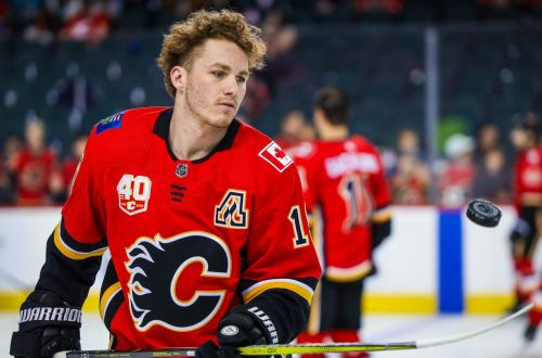 Matthew Tkachuk Calgary Flames Pest 7