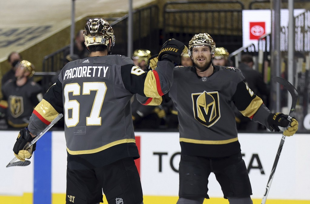 Max-Pacioretty-Vegas-Golden-Knights-3 Max Pacioretty with an absolute snipe on Grubauer Max Pacioretty Vegas Golden Knights