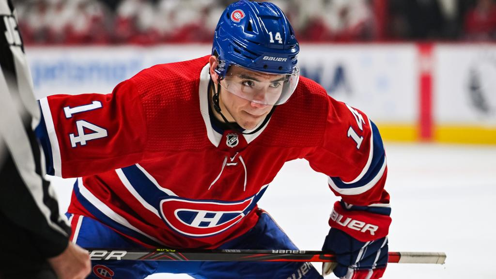 Nick Suzuki Montreal Canadiens Habs 1