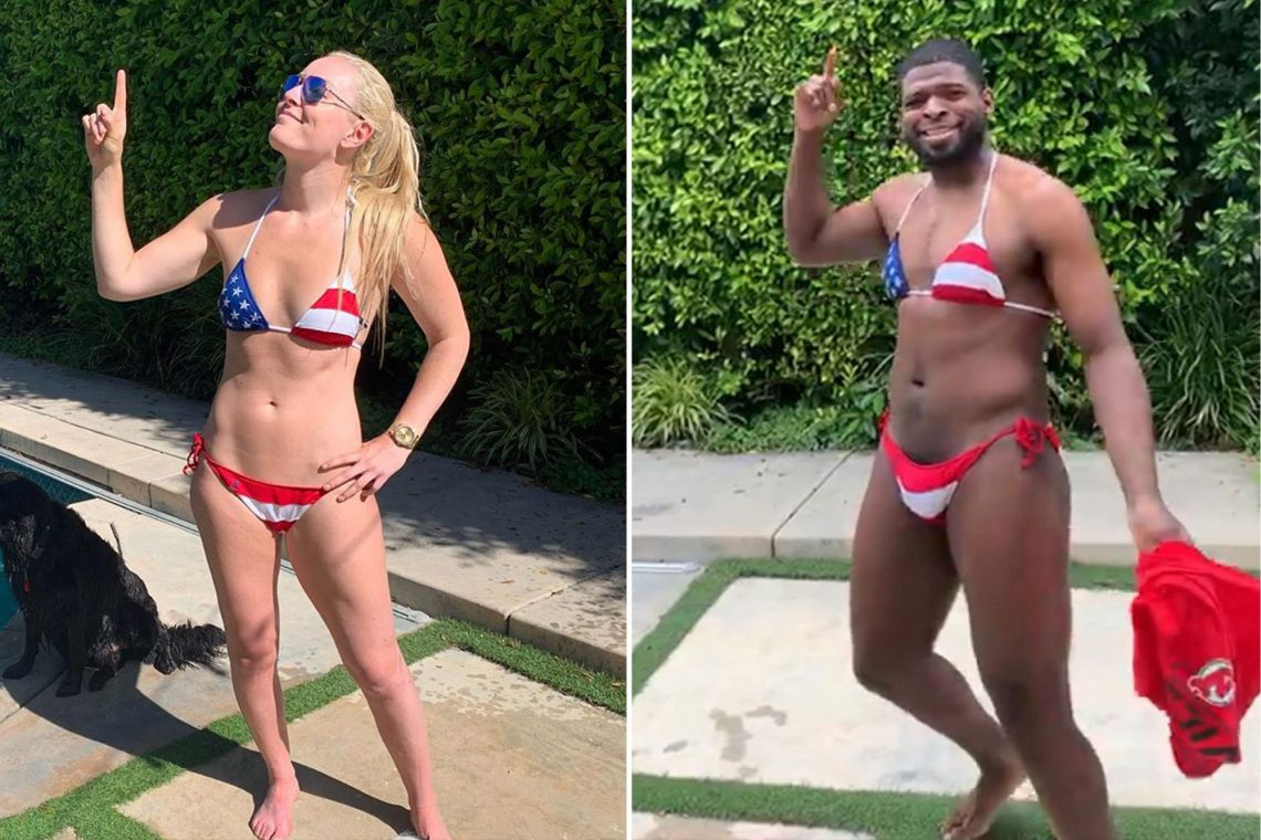 PK Subban And Lindsey Vonn Bikini