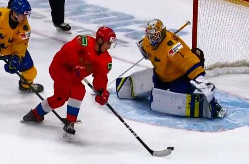 Russia OT Winner Vs Sweden