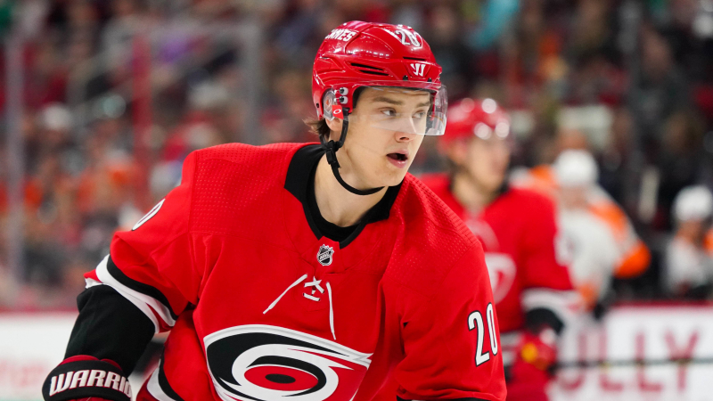 Sebastian-Aho-Carolina-Hurricanes-4 Top 10 plays from 2019-2020: Sebastian Aho Carolina Hurricanes Sebastian Aho