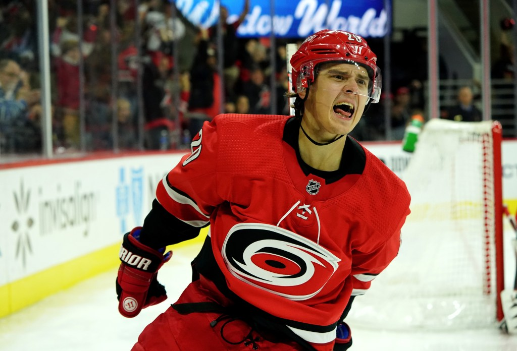 Sebastian-Aho-Carolina-Hurricanes-6-1024x696 Top 10 plays from 2019-2020: Sebastian Aho Carolina Hurricanes Sebastian Aho