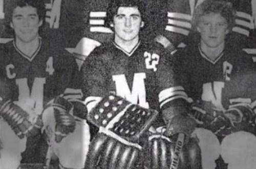 Steve Carell's 1979 Yearbook Hockey Team Photo Michael Scott The Office
