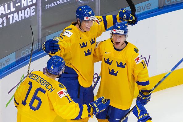 Sweden-Austria-World-Juniors 2021 World Junior Championships: Austria - Sweden 12.28.20 2021 World Junior Championships Team Austria Team Sweden