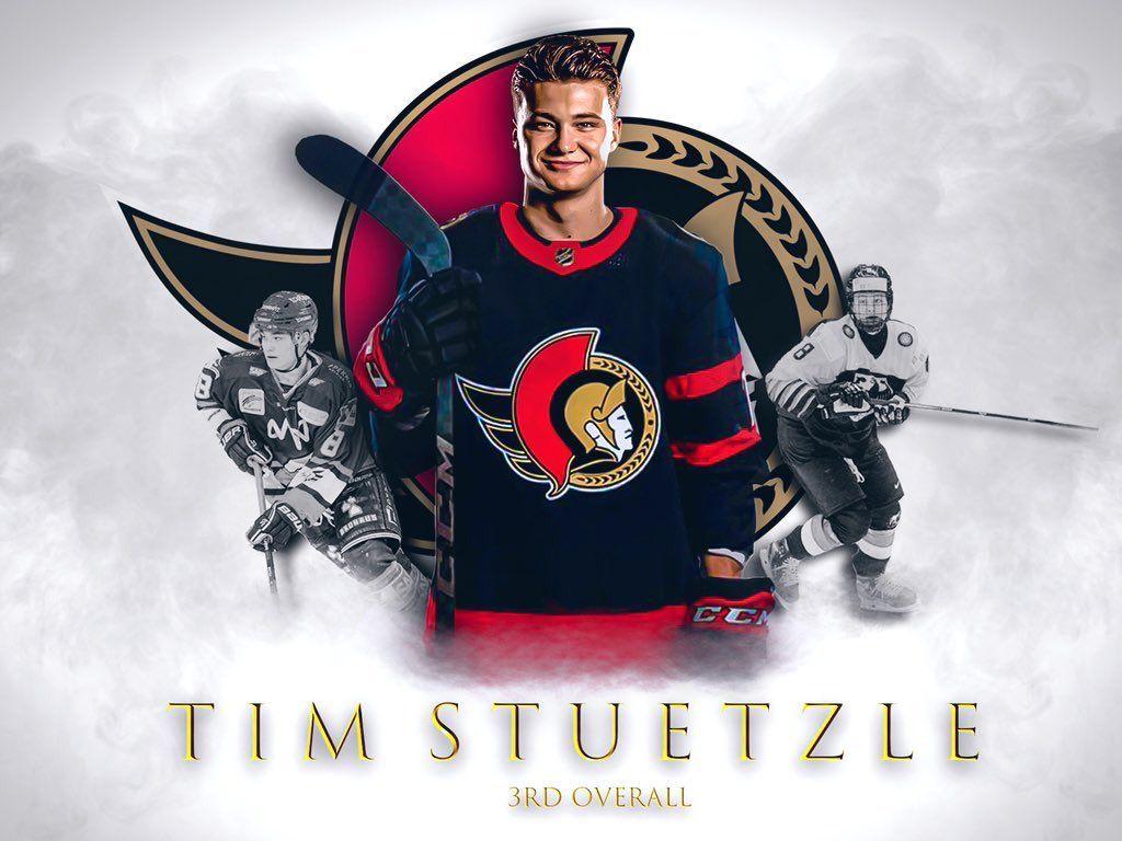 Tim Stutzle Ottawa Senators 14