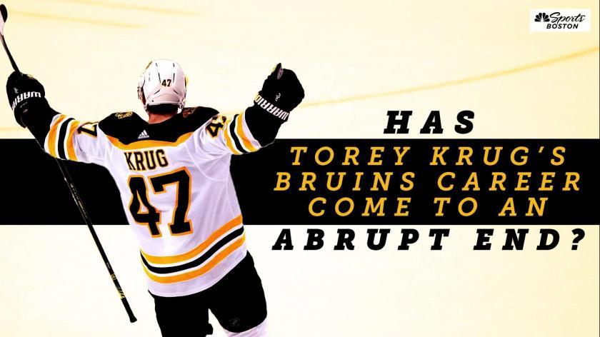 Torey-Krug-Bruins-Didnt-Want-Him-Back Torey Krug Boston Bruins NHL Torey Krug