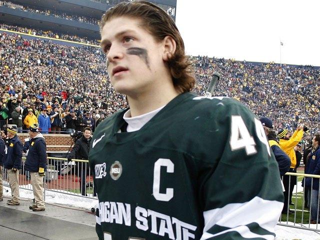 Torey-Krug-Michigan-State Torey Krug Boston Bruins NHL Torey Krug