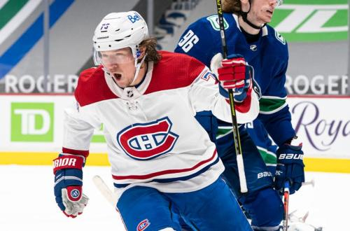 Tyler Toffoli Montreal Canadiens Habs 2