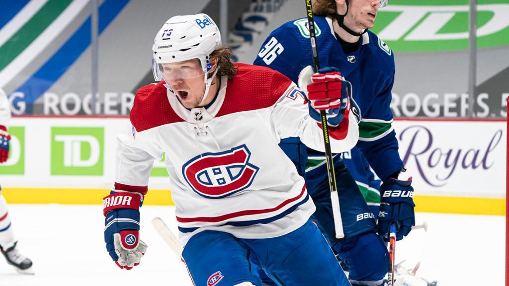 Tyler Toffoli Montreal Canadiens Habs 2