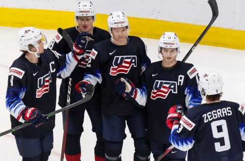 USA Austria Hockey