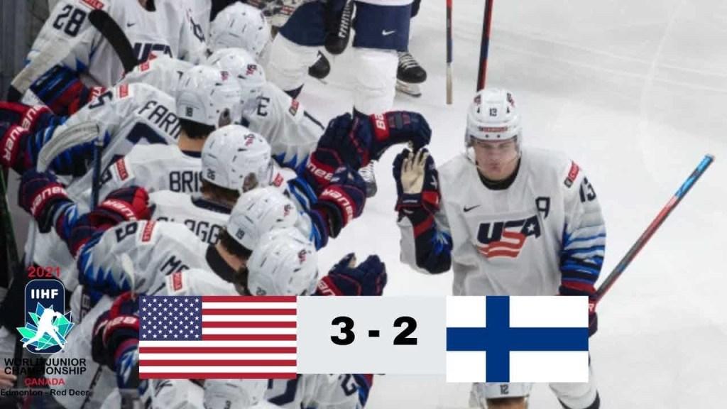USA-Finland-Hockey-Highlights-1024x576 2021 WJC: USA - Finland 12.22.20 Exhibition Highlights Team Finland Team USA