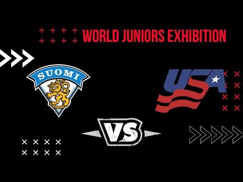 USA-Finland-Hockey-Highlights-2 2021 WJC: USA - Finland 12.22.20 Exhibition Highlights Team Finland Team USA