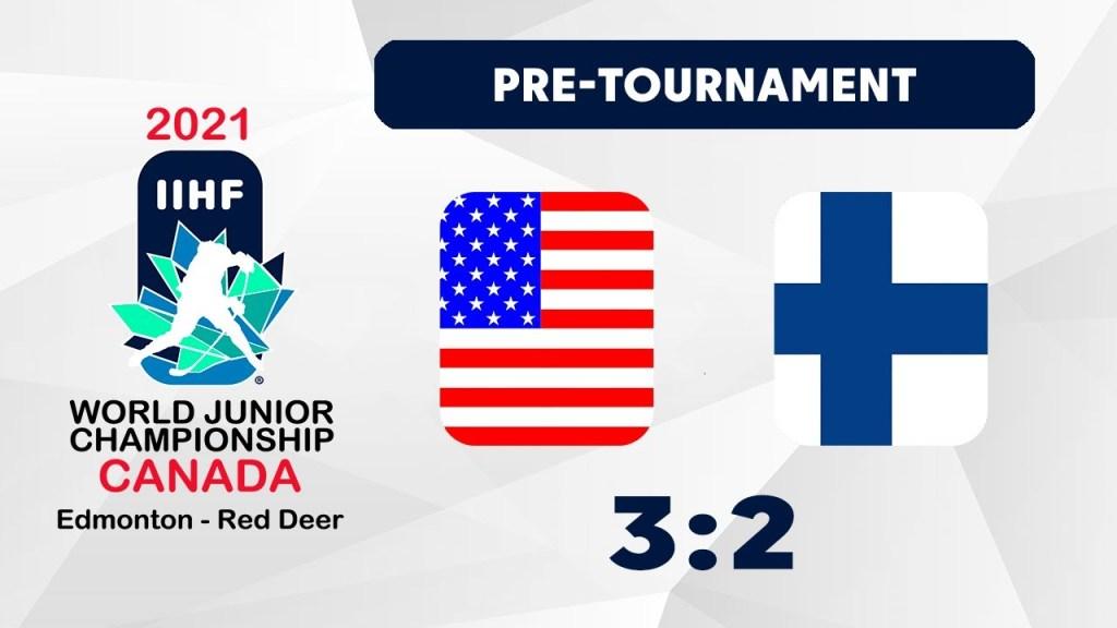 USA-Finland-Hockey-Highlights-3-2-1024x576 2021 WJC: USA - Finland 12.22.20 Exhibition Highlights Team Finland Team USA