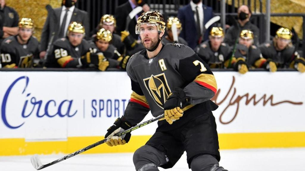 Vegas-Golden-Knights-Gold-Helmets-1-1024x576 The Vegas GOLDEN Knights dropped some gorgeous gold chrome helmets on us! Vegas Golden Knights