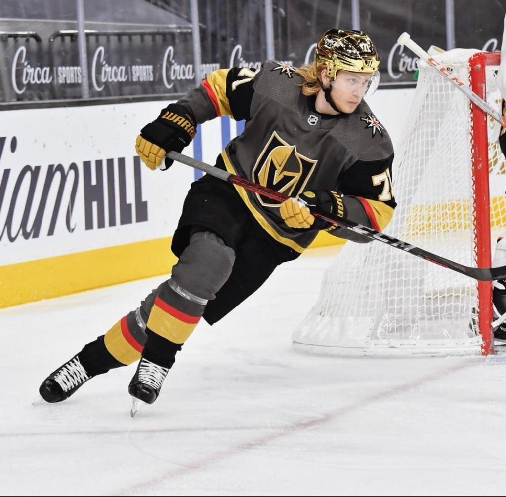 Vegas-Golden-Knights-Gold-Helmets-2-1024x1007 The Vegas GOLDEN Knights dropped some gorgeous gold chrome helmets on us! Vegas Golden Knights