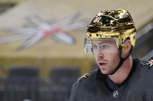 Vegas Golden Knights Gold Helmets 4