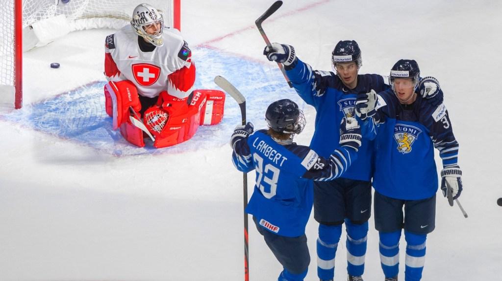 World-Juniors-Finland-defeats-Switzerland-with-ease-4-1-1024x575 2021 World Junior Championships: Finland - Switzerland 12.27.20 2021 World Junior Championships Team Finland Team Switzerland